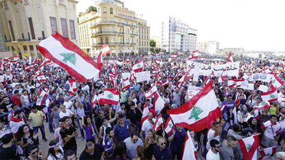 Le mouvement «Vous puez» rassemble un million de personnes à Beyrouth