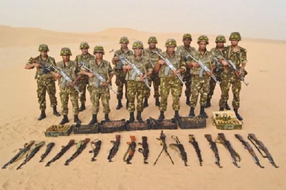 Un nouveau matériel de guerre saisi par l'ANP