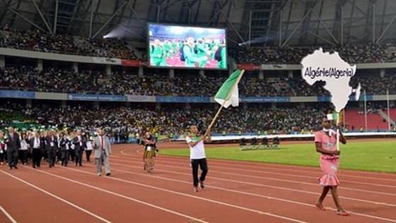 L'Algérie termine à la 3e place  au classement général