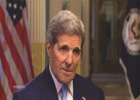 Kerry considère le président syrien comme faisant partie de la solution