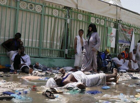 Trois algériens tués dans la bousculade de Mina