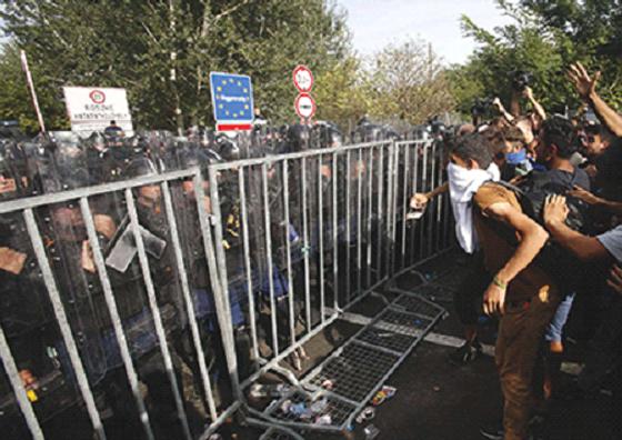 la Hongrie et ses actions concernant la crise actuelle de migrants
