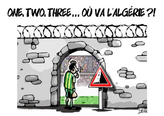 One Two Three ..ou va l'Algérie?!