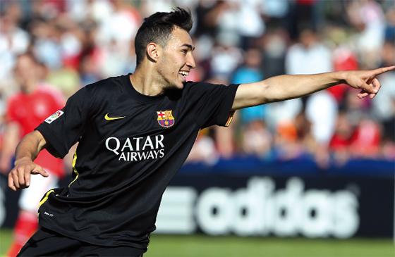 Munir El Haddadi : Buteur et sensation du FC Barcelone