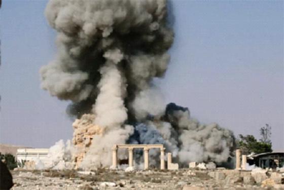 Daech détruit des monuments antiques à Palmyre pour exécuter trois personnes