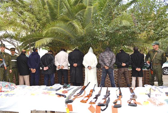 3 382 narcotrafiquants, terroristes et contrebandiers arrêtés en neuf mois