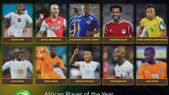 Qui sera le meilleur joueur africain de 2015?
