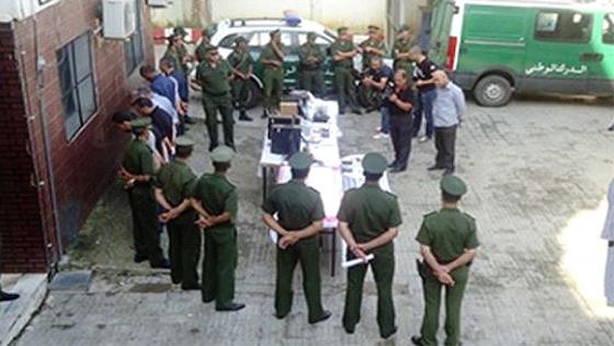 Le commandement de la  gendarmerie sur tous les fronts de lutte