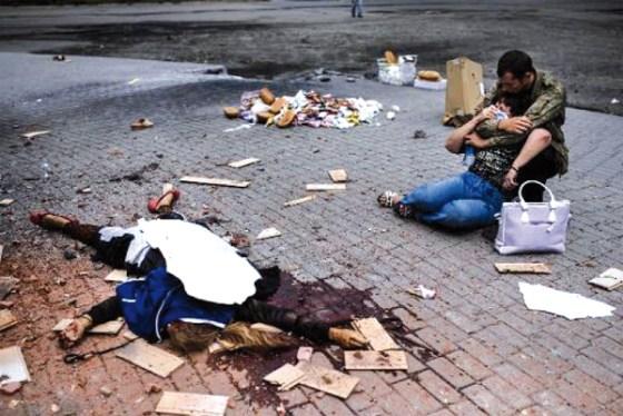 Lougansk : Témoignages poignants des conducteurs russes