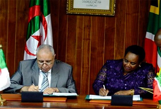 Signature d'un mémorandum entre l'Algérie et l'Afrique du Sud