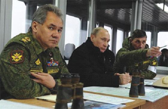 La Russie n'exclurait pas de recourir à une intervention militaire
