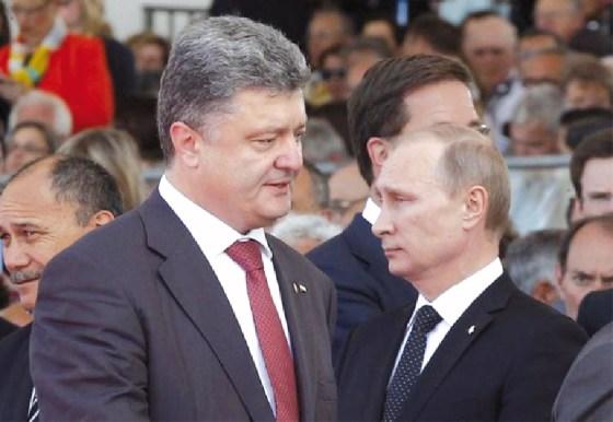 Poutine-Porochenko : Vers la désescalade en Ukraine