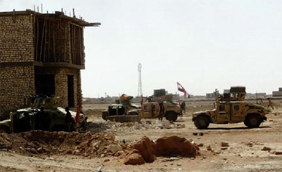 La ville de Ramadi en passe d'être reprise par l'armée irakienne