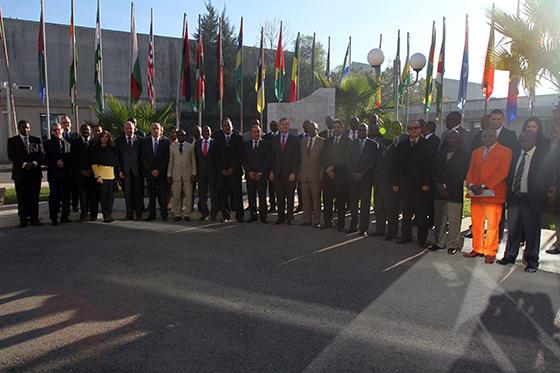 Des officiers de douze pays  sahélo-sahariens en formation à Alger