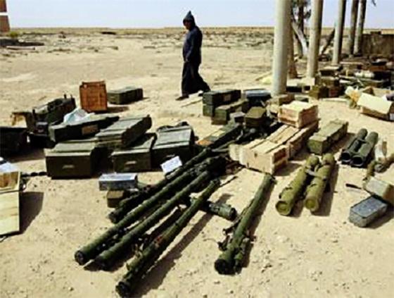 Arrestation de 20 contrebandiers et saisie d'explosifs