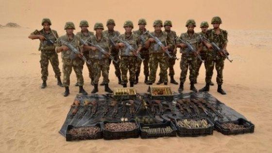 Deux caches d'armes découvertes dans le sud du pays