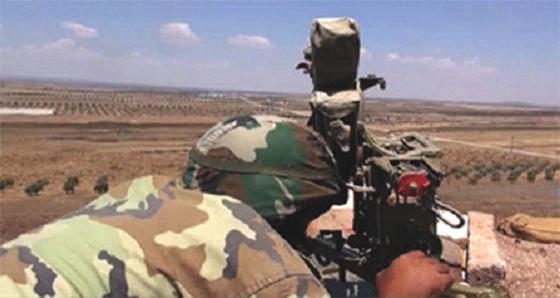 L'armée gouvernementale s'approche de la frontière
