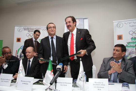 Mobilis et le COA prolongent leur partenariat jusqu'aux JO de 2020