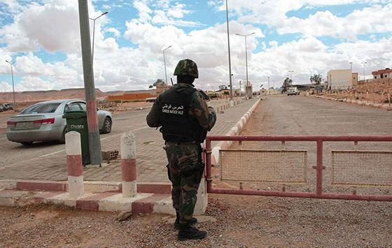 Alerte aux frontières libyennes