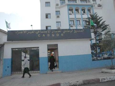 La Casnos recouvre seulement  10 milliards de dinars de cotisations