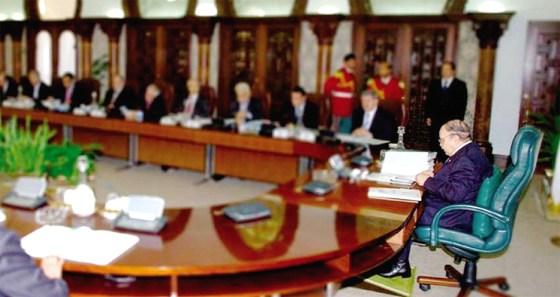 L'avant-projet de la révision constitutionnelle avalisé