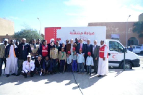 Tamanrasset : Ooredoo et le CRA lancent  la première clinique mobile
