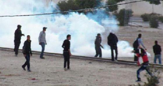 Importantes manifestations de chômeurs en Tunisie