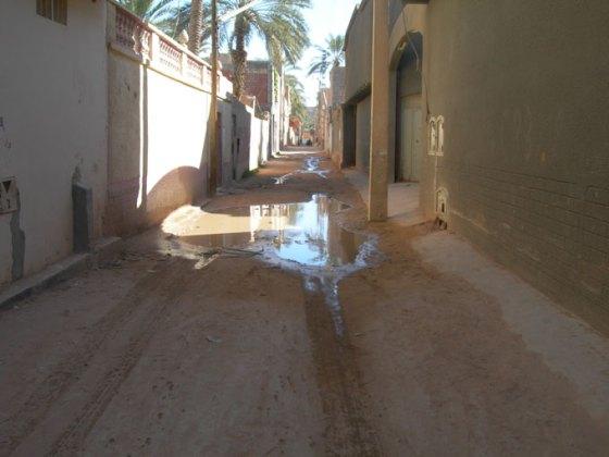 Multiples fuites d'eau potable à Ghardaia