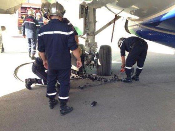 Un avion de Tassili Airlines bloqué sur la piste de l'aéroport de Sétif
