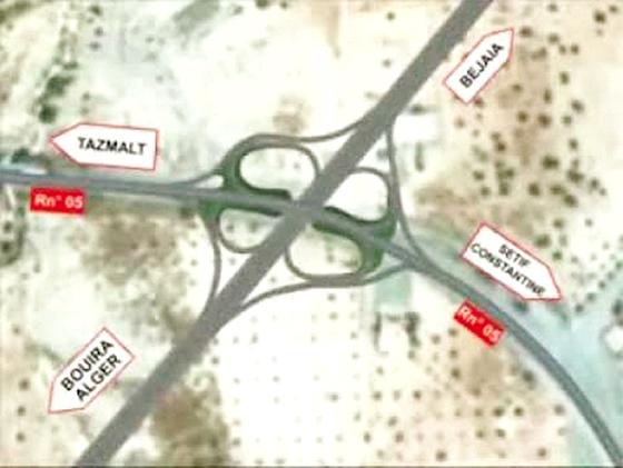 Pénétrante Béjaia: 50 km seront ouverts aux automobilistes le 20 août