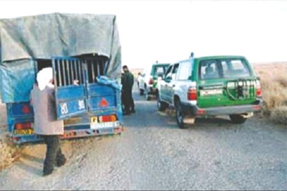 Huit contrebandiers arrêtés et des armes récupérées