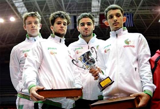 L'Algérie bat l'Egypte  et remporte le titre