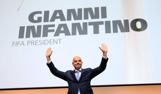 Gianni Infantino nouveau président de la FIFA