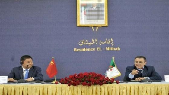Négociations pour un consortium algéro-chinois