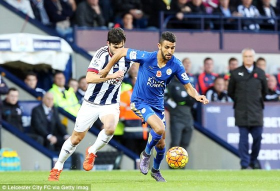 Leicester freiné, Mahrez signe sa 11e offrande