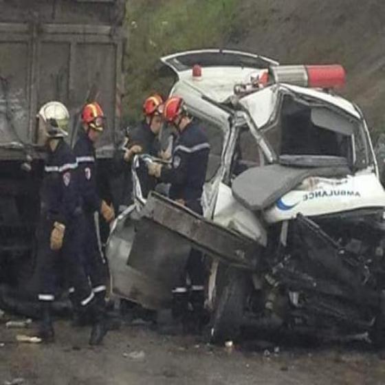 Quatre morts dont un bébé dans un carambolage sur l'autoroute à Larbaâtache