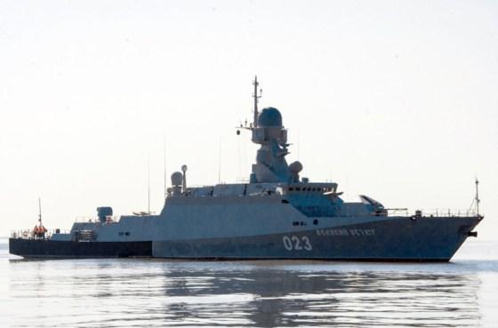 Les forces navales se dotent d'une corvette à la technologie de pointe