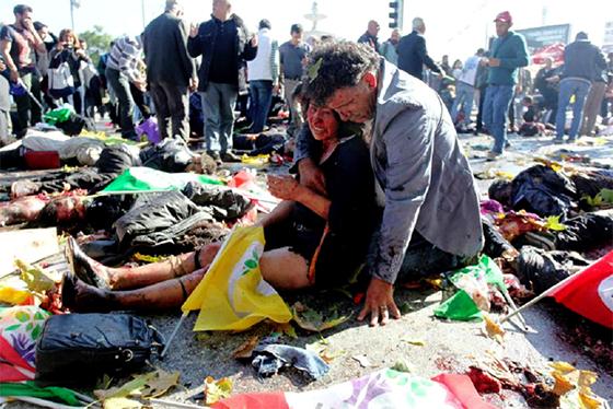 Au moins 37 morts dans l'explosion à Ankara