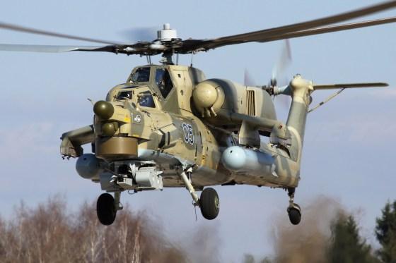 La Russie livrera 40 hélicoptères d'attaque Mi-28 à l'Algérie