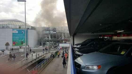 Au moins 34 morts et 170 blessés dans une série d'explosions à Bruxelles