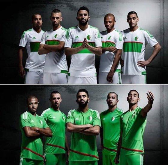 Adidas dévoile les nouveaux maillots des Verts