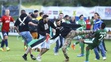 Des autrichiens chassent des joueurs israeliens de leur ville