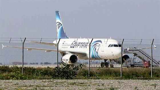 Dénouement dans l'affaire du détournement d'un avion d'EgyptAir