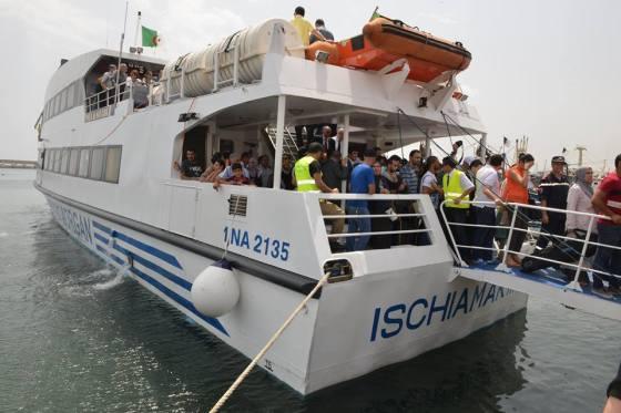 Transport maritime : Possibilité d'ouverture de lignes Alger-Tipasa