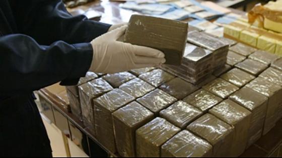 Saisie de 1 000 tonnes de drogue en provenance du Maroc