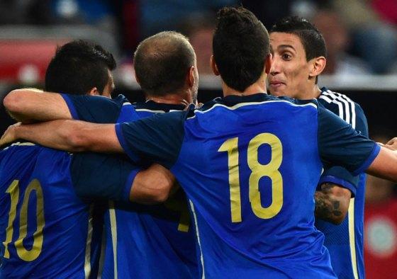 Les argentins prennent leur revanche sur les allemands