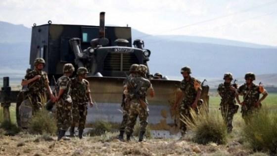 Trois abris pour terroristes détruits à Médéa
