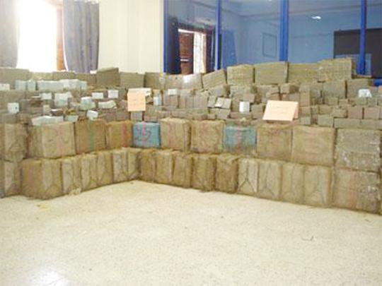 Plan «Delphine» 2014 : Plus de 20 tonnes de kif traité ont été saisies