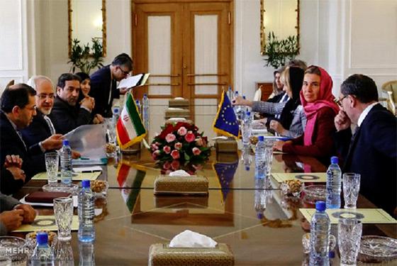 Une délégation de l'UE à Téhéran pour «relancer  la coopération»