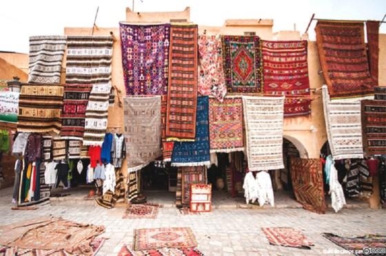 Ghardaïa à l'heure du tapis